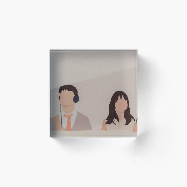 (500) Acrylic Block