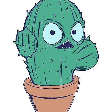Prickly Cactus by Mermaid-Margo