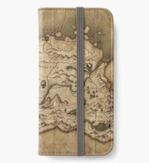 Skyrim Map iPhone Wallet/Case/Skin