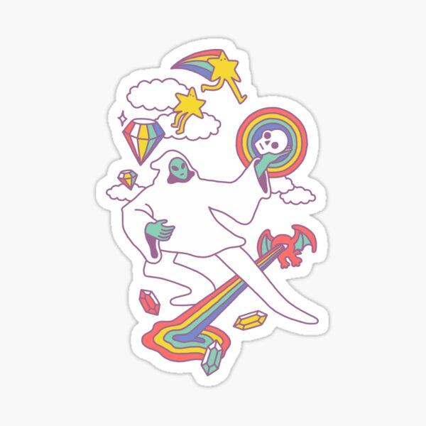Space Magic Sticker