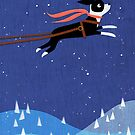 A Boston Terrier Holiday by Tracy Sabin