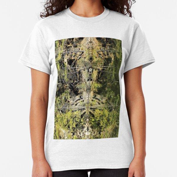 Nature's Fractal: Northwest Bay Brook, NY Classic T-Shirt