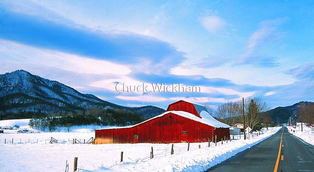 WINTER SCENE. by Chuck Wickham