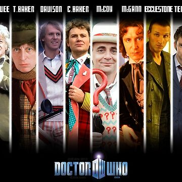 Dr Who | The 12 Doctors by tEdits