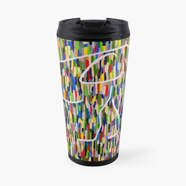 Elephant in the Jungle Travel Mug