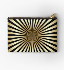 Bolso de mano Zoom, oro, negro, rayas, diagonal, moda, moderno, elegante, elegante, patrón