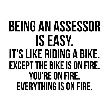 Being An Assessor Is Easy by Renware