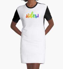 rainbow sisters Graphic T-Shirt Dress