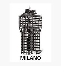 Milan, Italy architecture - Torre Velasca Photographic Print
