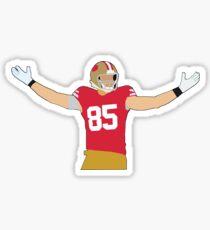 George Kittle - San Francisco 49ers Sticker