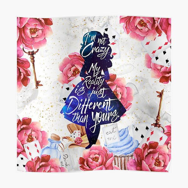 Alice - I'm Not Crazy Poster