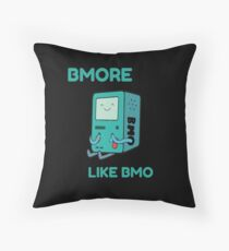 Bmore like BMO Throw Pillow