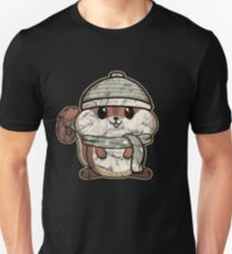 Animal Kid Squirrel Vintage Christmas Gift Unisex T-Shirt