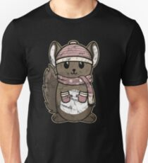 Animal Kid Chinchilla Vintage Christmas Gift Unisex T-Shirt