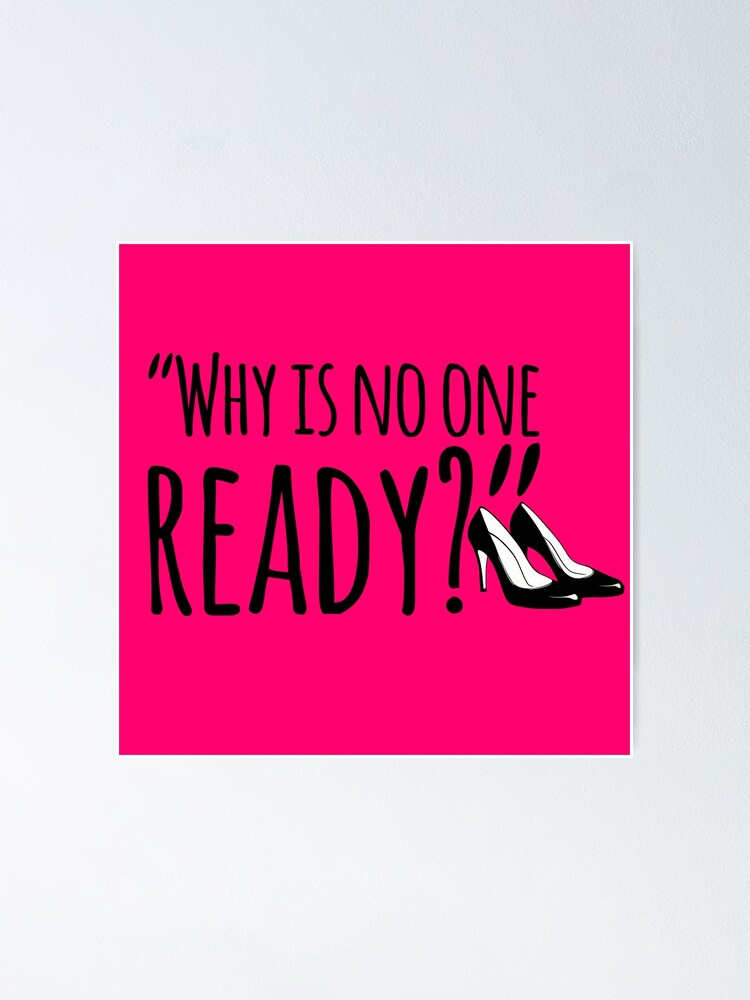 Alternate view of No One Ready Poster