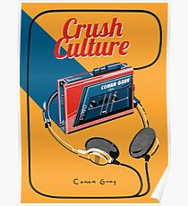 conan gray crush culture Poster