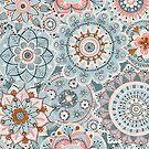 Beachy Boho Chic Mandala Pattern by Bex Morley