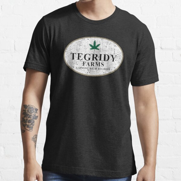 Tegridy Farms - Farming With Tegridy Essential T-Shirt
