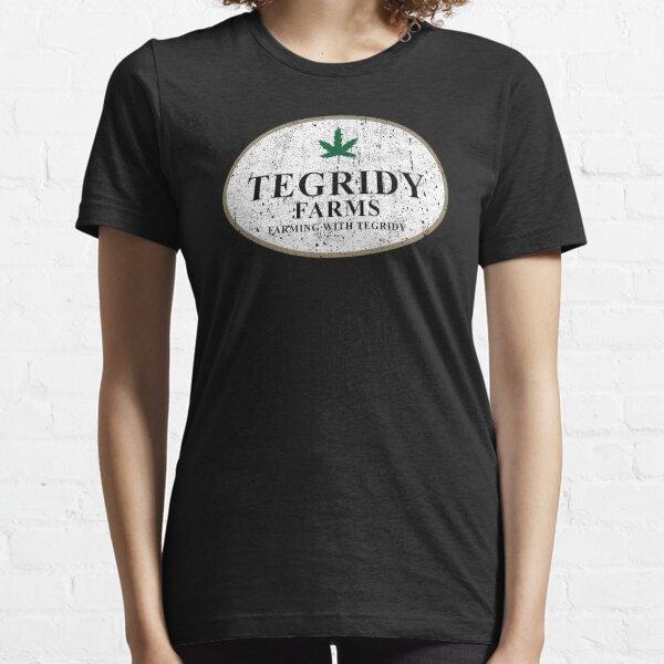 Tegridy Farms - Cultiver avec Tegridy T-shirt essentiel
