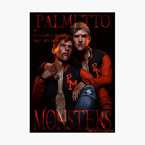 Palmetto Monsters Photographic Print