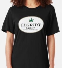 Camiseta ajustada Tegridy Granjas