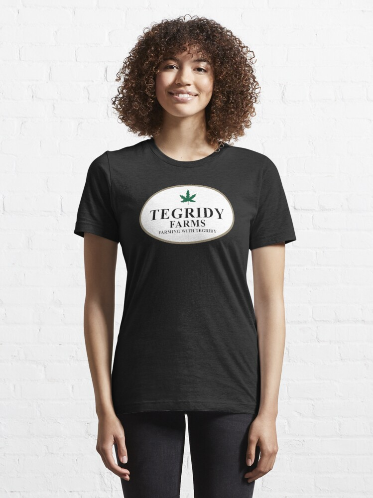 Alternate view of Tegridy Farms Essential T-Shirt