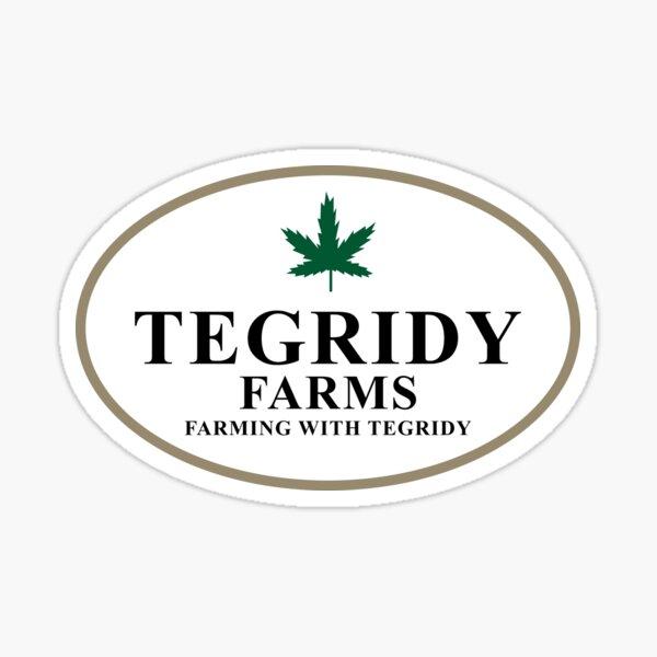 Tegridy Farms Sticker
