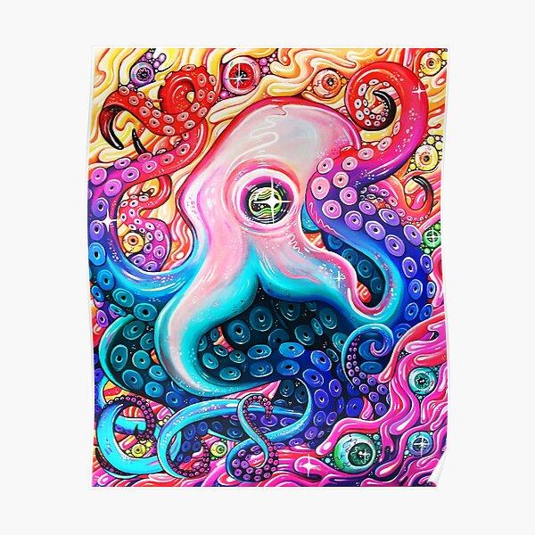 GlitterOctopus Poster