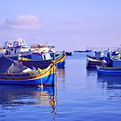 Malta Boats by T-Pot