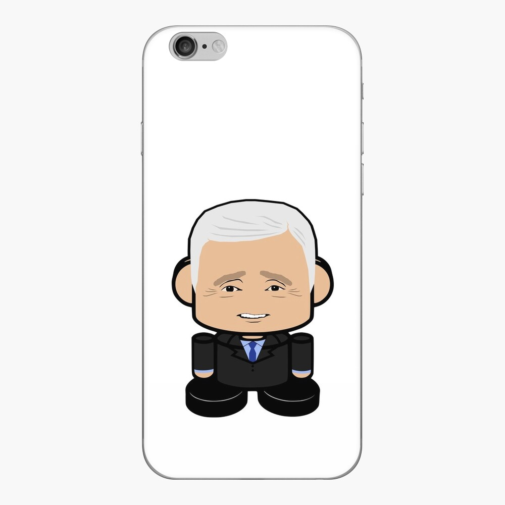 Pensive POLITICO'BOT Toy Robot iPhone Skin