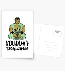 KBuddah Simple Logo  Postcards