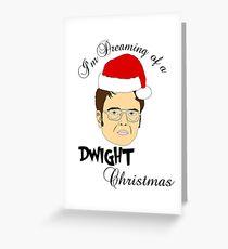Dwight Weihnachten Grußkarte