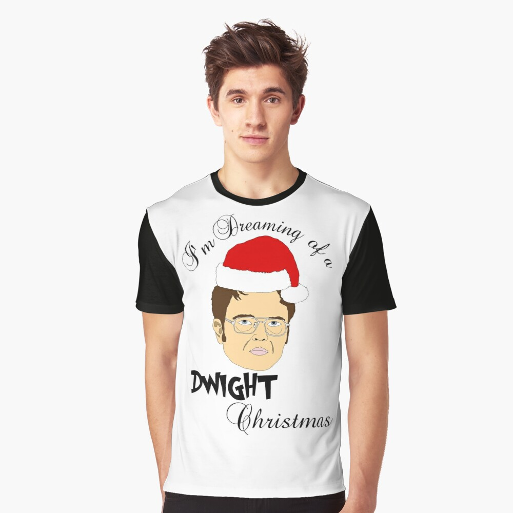 Dwight Christmas.Dwight Christmas Graphic T Shirt