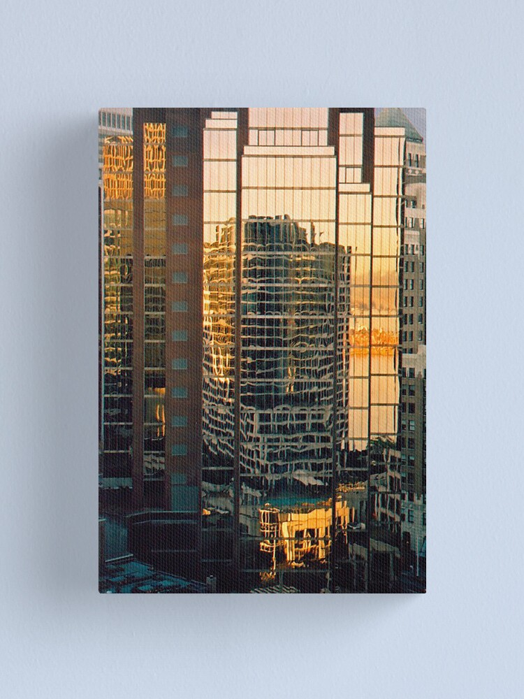 Alternate view of Vancouver Reflections Canvas Print