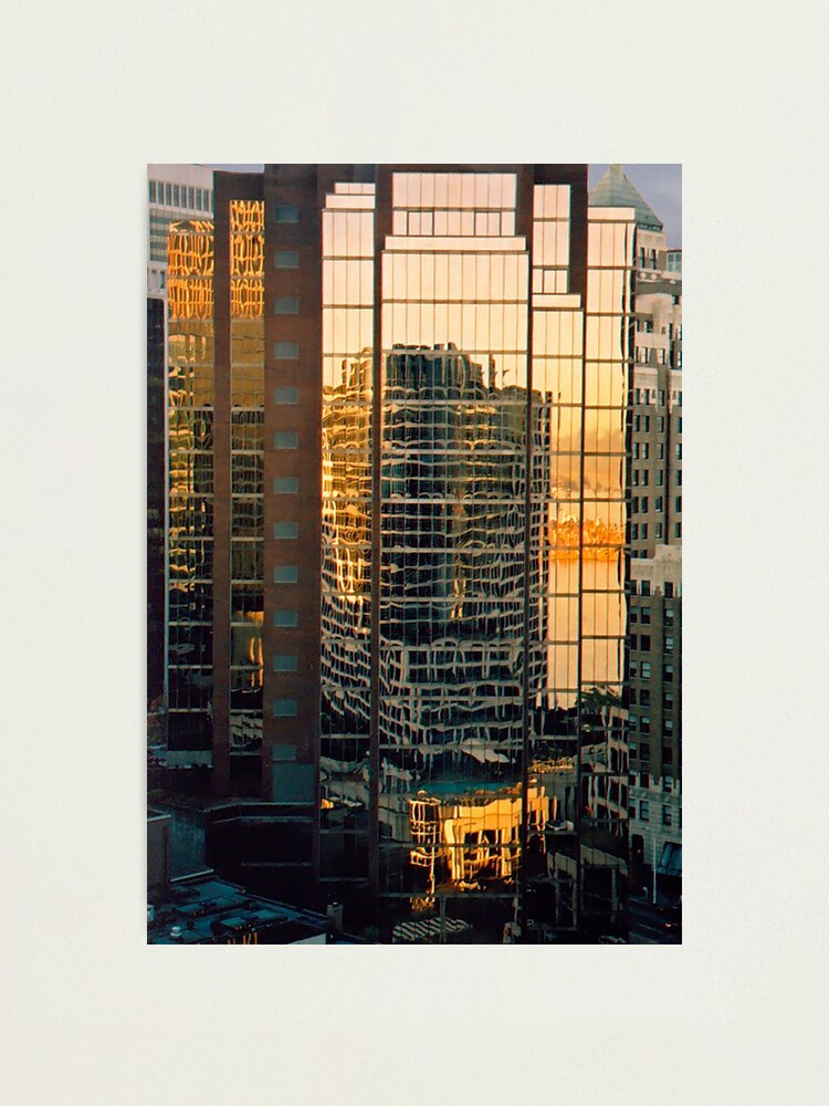 Alternate view of Vancouver Reflections Photographic Print