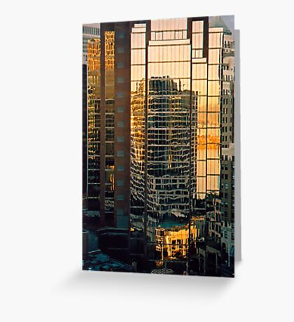 Vancouver Reflections Greeting Card