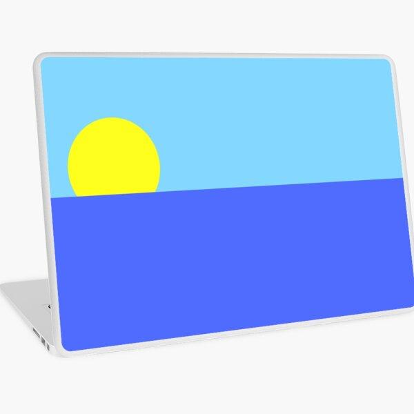 Minimalist horizon Laptop Skin