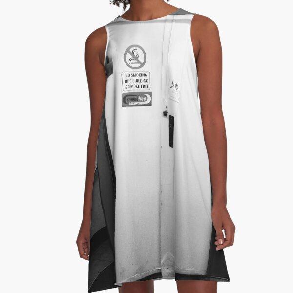 Carpark Elevators A-Line Dress