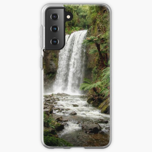 The Hopetoun Falls on the Aire River, Victoria Samsung Galaxy Soft Case