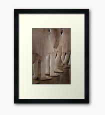 Ballet Babes - Aged Framed Print