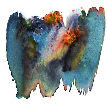 Expanding universe deep dark abstract art by shoshannahscrib