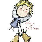 Little Christmas Angel by Rosie Harriott