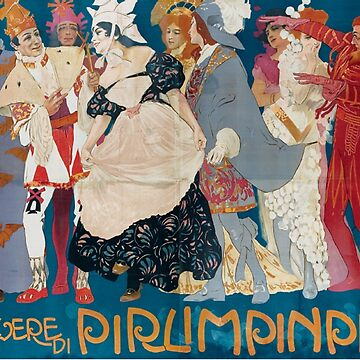 Vintage poster - Pirlimpinpin by mosfunky
