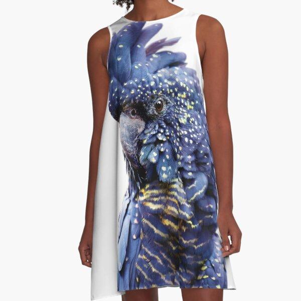 Black Cockatoo  A-Line Dress