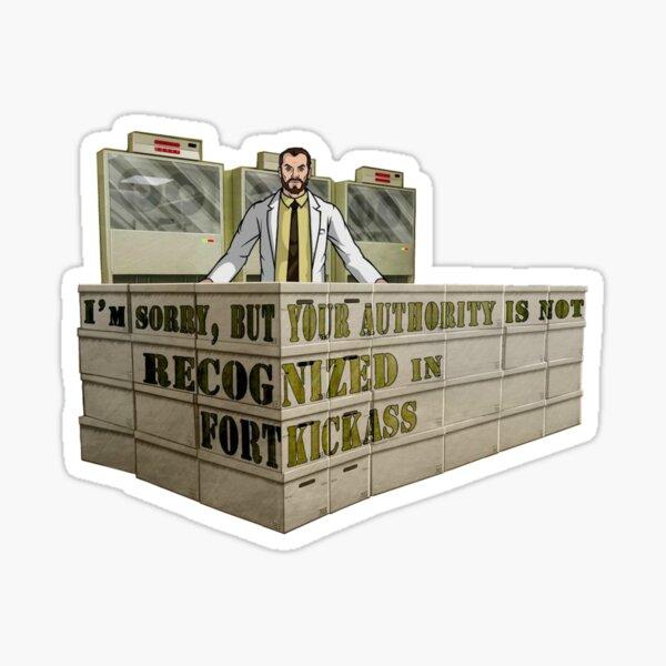 Kreiger's Fort Kickass Sticker