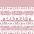 """Roll for Initiative Fair Isle in """"Frosting"""" by SweetDelilahs"""