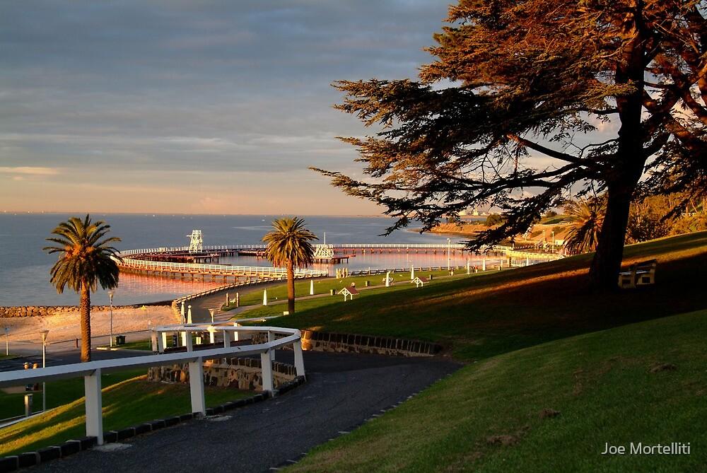 Eastern Beach Geelong. by Joe Mortelliti