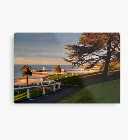 Eastern Beach Geelong. Metal Print
