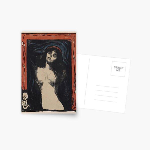 MADONNA - EDVARD MUNCH  Postcard