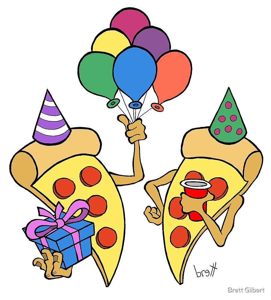 Pizza Party by Brett Gilbert